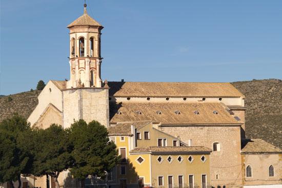 Vista de la Iglesia de Santa María Magdalena