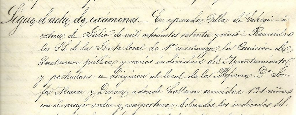 Josefa Alcaráz 1875