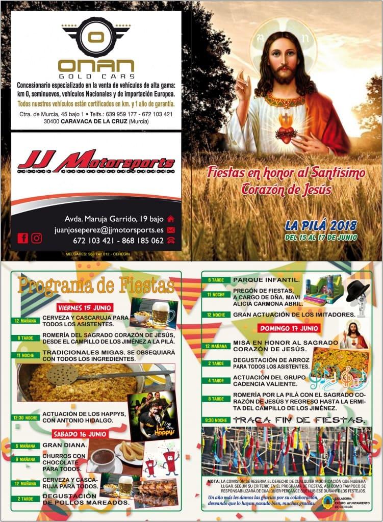 Cartel Fiestas de La Pilá